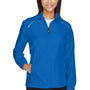 Core 365 Womens Motivate Water Resistant Full Zip Jacket - True Royal Blue