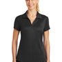 Nike Womens Legacy Dri-Fit Moisture Wicking Short Sleeve Polo Shirt - Black