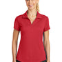 Nike Womens Legacy Dri-Fit Moisture Wicking Short Sleeve Polo Shirt - Gym Red