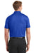 Nike 838964 Mens Dri-Fit Moisture Wicking Short Sleeve Polo Shirt Royal Blue Back