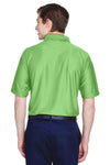 UltraClub 8413 Mens Cool & Dry Elite Performance Moisture Wicking Short Sleeve Polo Shirt Apple Green Back