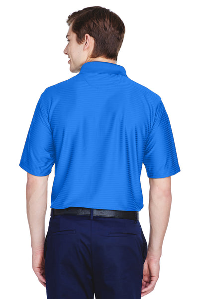 UltraClub 8413 Mens Cool & Dry Elite Performance Moisture Wicking Short Sleeve Polo Shirt Royal Blue Back