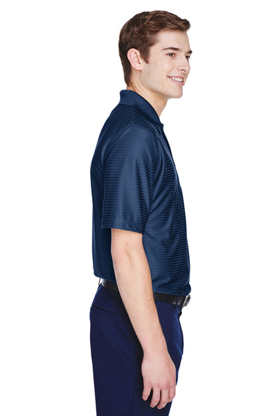 UltraClub 8413 Mens Cool & Dry Elite Performance Moisture Wicking Short Sleeve Polo Shirt Navy Blue Side