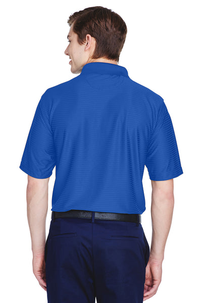 UltraClub 8413 Mens Cool & Dry Elite Performance Moisture Wicking Short Sleeve Polo Shirt Cobalt Blue Back