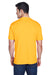 UltraClub 8420 Mens Cool & Dry Performance Moisture Wicking Short Sleeve Crewneck T-Shirt Gold Back
