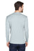 UltraClub 8422 Mens Cool & Dry Performance Moisture Wicking Long Sleeve Crewneck T-Shirt Grey Back
