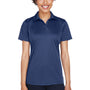 UltraClub Womens Cool & Dry Performance Moisture Wicking Short Sleeve Polo Shirt - Navy Blue