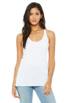 Bella + Canvas 8430 Womens Tank Top Solid White Front