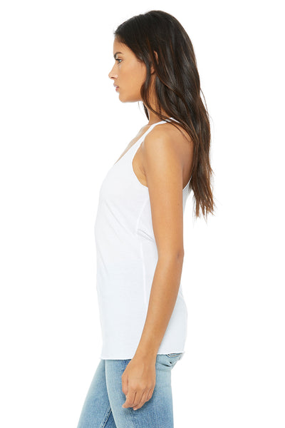 Bella + Canvas 8430 Womens Tank Top Solid White Side
