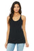 Bella + Canvas 8430 Womens Tank Top Solid Black Front