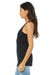 Bella + Canvas 8430 Womens Tank Top Solid Black Side