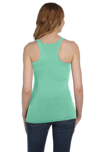 Bella + Canvas 8430 Womens Tank Top Green Back