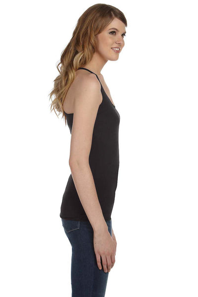 Bella + Canvas 8430 Womens Tank Top Charcoal Black Side