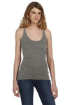 Bella + Canvas 8430 Womens Tank Top Grey Front