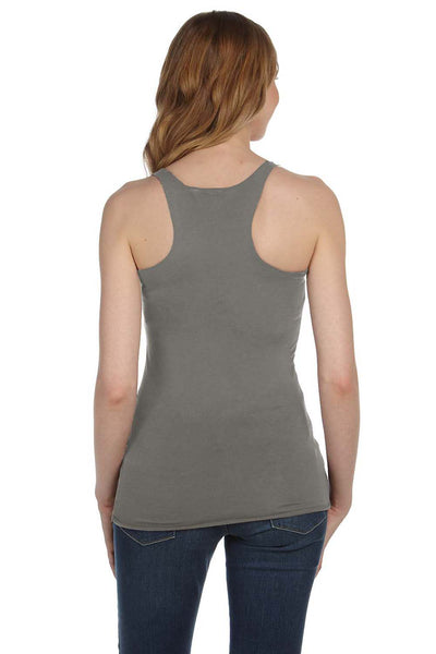 Bella + Canvas 8430 Womens Tank Top Grey Back