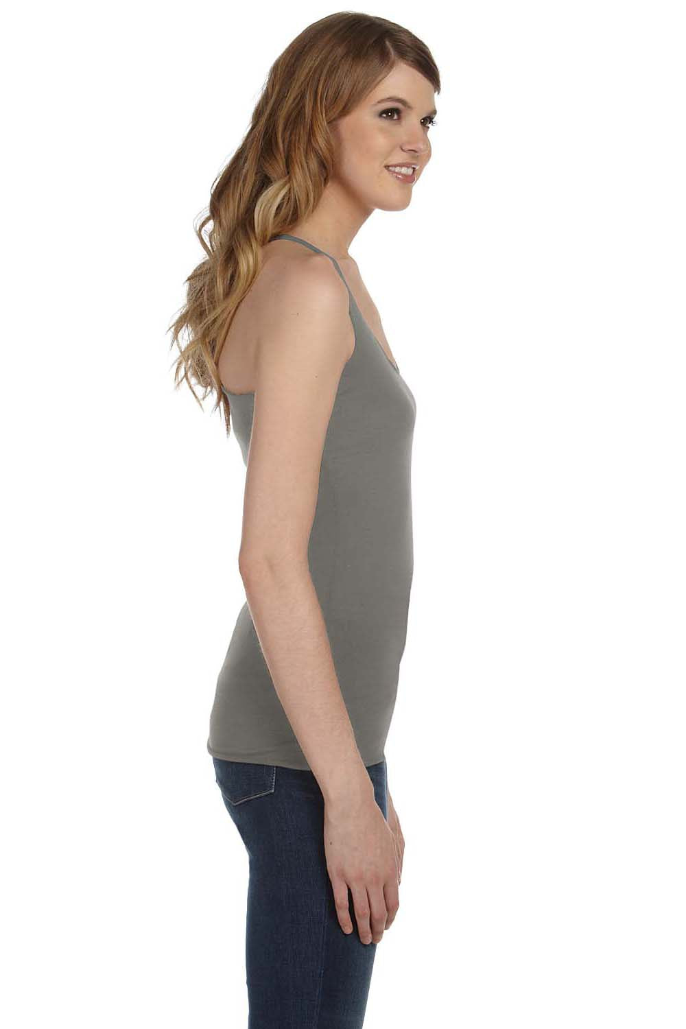 Bella + Canvas 8430 Womens Tank Top Grey Side
