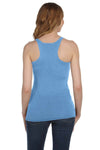 Bella + Canvas 8430 Womens Tank Top Blue Back