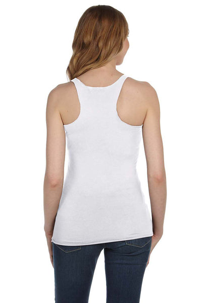 Bella + Canvas 8430 Womens Tank Top White Fleck Back