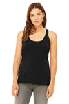 Bella + Canvas 8430 Womens Tank Top Heather Black Front