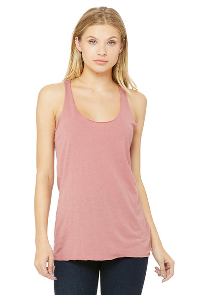 Bella + Canvas 8430 Womens Tank Top Mauve Front