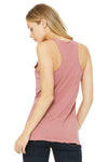Bella + Canvas 8430 Womens Tank Top Mauve Back
