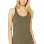 Bella + Canvas Womens Tank Top - Olive Green