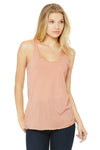 Bella + Canvas 8430 Womens Tank Top Peach Front