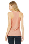 Bella + Canvas 8430 Womens Tank Top Peach Back