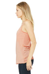 Bella + Canvas 8430 Womens Tank Top Peach Side