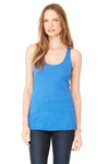 Bella + Canvas 8430 Womens Tank Top Royal Blue Front