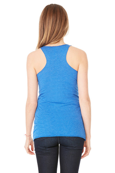 Bella + Canvas 8430 Womens Tank Top Royal Blue Back