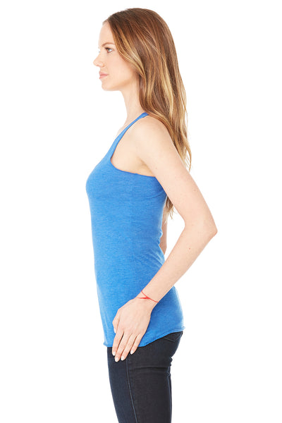 Bella + Canvas 8430 Womens Tank Top Royal Blue Side