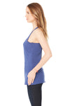 Bella + Canvas 8430 Womens Tank Top Navy Blue Side