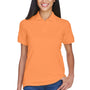 UltraClub Womens Classic Short Sleeve Polo Shirt - Tangerine Orange