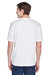 UltraClub 8620 Mens Cool & Dry Performance Moisture Wicking Short Sleeve Crewneck T-Shirt White Back