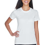 UltraClub Womens Cool & Dry Performance Moisture Wicking Short Sleeve Crewneck T-Shirt - White