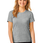 Anvil Womens Short Sleeve Crewneck T-Shirt - Heather Grey