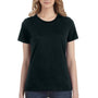Anvil Womens Short Sleeve Crewneck T-Shirt - Black