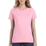 Anvil Womens Short Sleeve Crewneck T-Shirt - Charity Pink