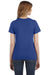 Anvil 880 Womens Short Sleeve Crewneck T-Shirt Heather Blue Back