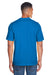 Core 365 88182 Mens Pace Performance Moisture Wicking Short Sleeve Crewneck T-Shirt Royal Blue Back