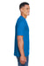 Core 365 88182 Mens Pace Performance Moisture Wicking Short Sleeve Crewneck T-Shirt Royal Blue Side