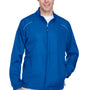 Core 365 Mens Motivate Water Resistant Full Zip Jacket - True Royal Blue