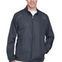 Core 365 Mens Motivate Water Resistant Full Zip Jacket - Carbon Grey