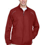 Core 365 Mens Motivate Water Resistant Full Zip Jacket - Classic Red