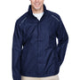 Core 365 Mens Climate Waterproof Full Zip Hooded Jacket - Classic Navy Blue