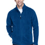 Core 365 Mens Journey Full Zip Fleece Jacket - True Royal Blue