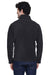Core 365 88190 Mens Journey Full Zip Fleece Jacket Heather Charcoal Grey Back
