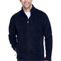 Core 365 Mens Journey Full Zip Fleece Jacket - Classic Navy Blue