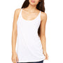 Bella + Canvas Womens Slouchy Tank Top - White